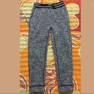 Gap Kids Fleece Sweat Pants Joggers Sz 8 Black